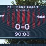 Pmfc-Makó 0-60